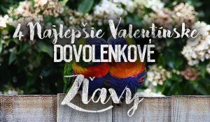 4 najlepšie dovolenkové valentínske zľavy